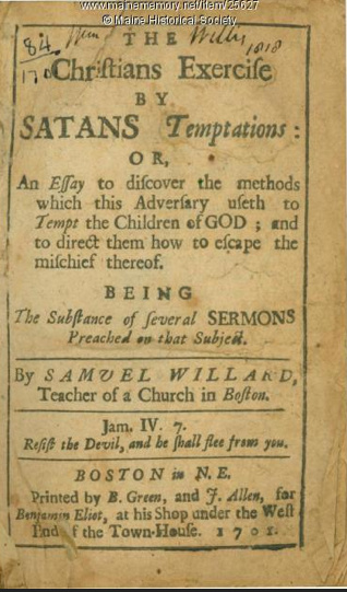 Rev Samuel Willard 1640-1707 Writings - Dornburg Family Branches Web Site