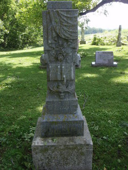 Clara Johnton gravestone - CHAPMANFAMILYTREE Web Site