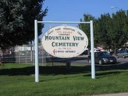Mountain View Cemetery, - Switzer Web Site