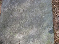 Daniel Sanford (Died 1793) - Foehre - Clan Web Site