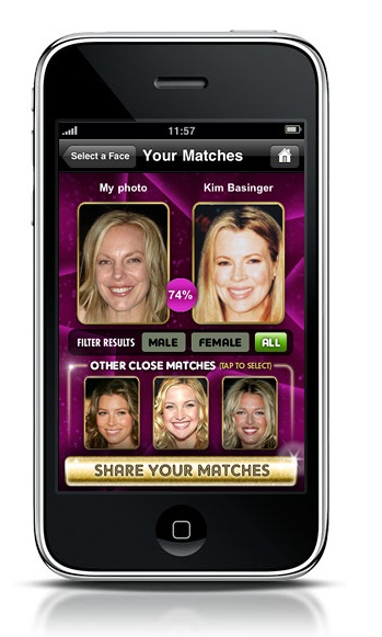 The New MyHeritage Celebrity App