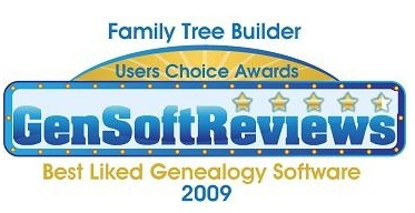 Family Tree Builder Award