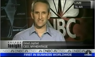 MyHeritage CEO Gilad Japhet live on CNBC