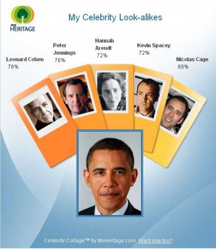 Obama Celebrity Look A-likes