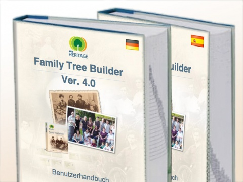 Family Tree Guides in Spanish and German