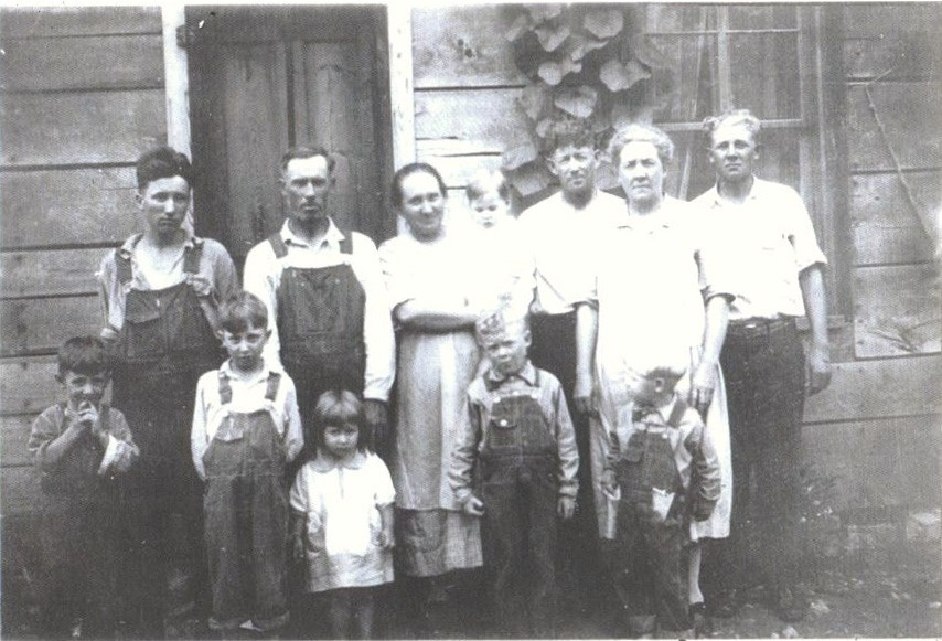 1927 Thrasher and Flanagan Families