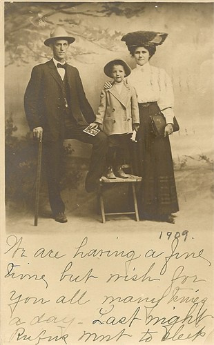 ethel, joe and rufus higginbotham from karen davenport smith - Bowie-Whitman Web Site