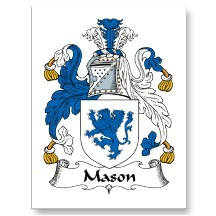 mason family crest - James and Jacqui Web Site