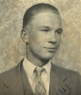 Fred Cook (18 or 19 yrs. old) - Gill Family